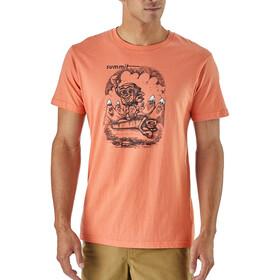 Patagonia M's Nut vs. Piton Organic T-Shirt Quartz Coral